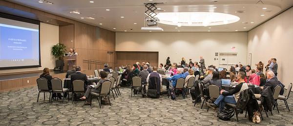 Winter 2017 CBAPP retreat held in the Loker Student Union Ballroom