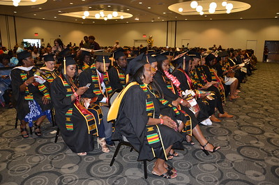 Douglas Bethune Graduation Celebration 2017 held in the LSU Ballroom at California State University Dominguez Hills
