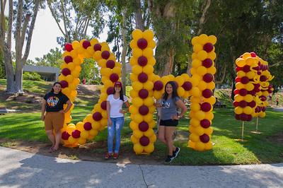 Involvement Fair; Sculpture Garden; Welcome Week; Games; Food; Activities; Students; Fall; Organizations; Clubs