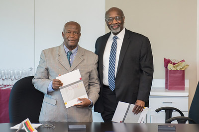 Universite' des Montagnes Republic of Cameroon.UdM Signing Ceremony Notes MOU Signing  with Professor Doctor Lazare Kaptue and Dr. Naijou Omer