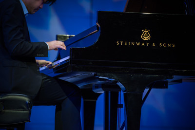Steinway by Starlight Feb 2, 2017 Performance by Sean Chen internationally renown pianist at the university theater at California State University Dominguez Hills.