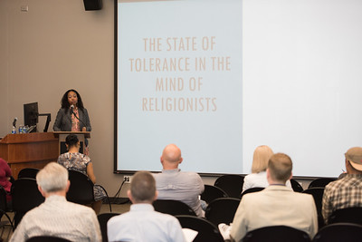"""DR. LARYCIA A. HAWKINS give a symposium on Tolerance in the mind of God.  """"God Has Had Enough…Of Mere Religious Tolerance"""""""