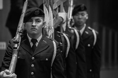 2017 Veterans Graduation Celebration held in the Loker student union on May 09, 2017