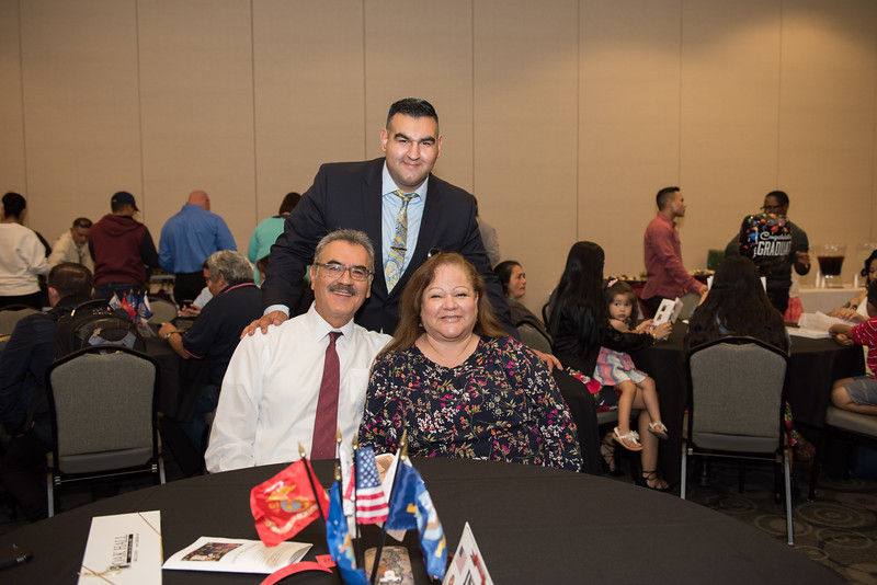 2017 Veterans Graduation Celebration held in the Loker student union on May 09, 2017