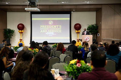 PRESIDENT'S STUDENT LEADERSHIP AND SERVICE AWARDS 2018