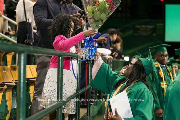 Students at Commencement 2018Photo by:  Ron Aira/Creative Services/George Mason University