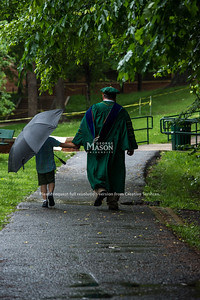 Commencement 2018. Photo by Evan Cantwell/Creative Services/George Mason University