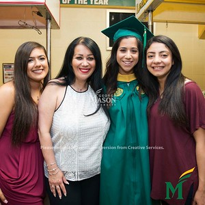 Graduates celebrate with their friends and families at the 2018 College of Health and Human Services Degree Celebration. Photo by Bethany Camp/Creative Services/George Mason University