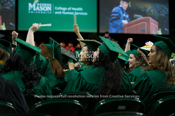2018 College of Health and Human Services Degree Celebration. Photo by Bethany Camp/Creative Services/George Mason University