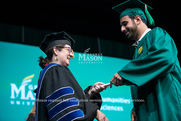 College of Humanitites and Social Sciences Degree Celebration