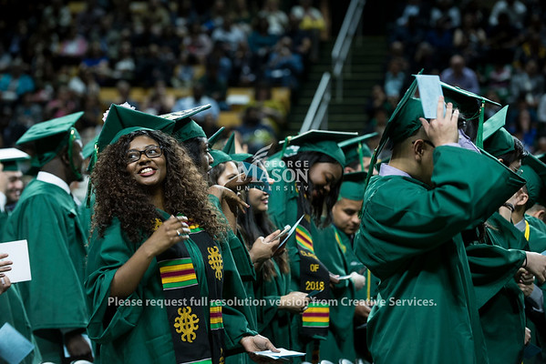 2018 School of Business Degree Celebration. Photo by Bethany Camp/Creative Services/George Mason University