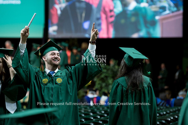 2018 School of Business Degree Celebration. Photo by Bethany Camp/Creative Services/George Mason University