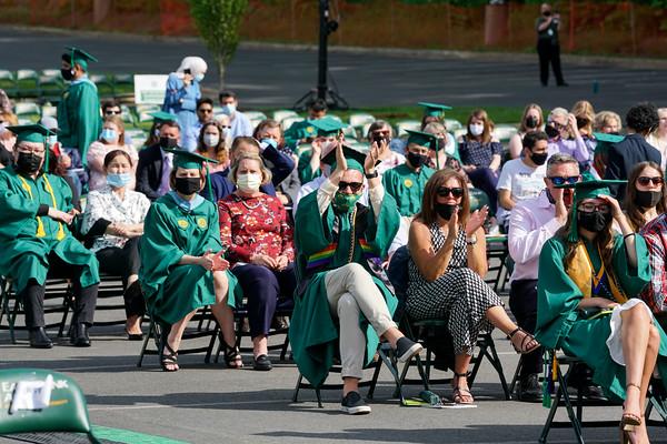 Class of 2020 graduation ceremony