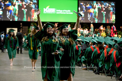 2018 Winter Graduation. Photo by Bethany Camp/Creative Services/George Mason University