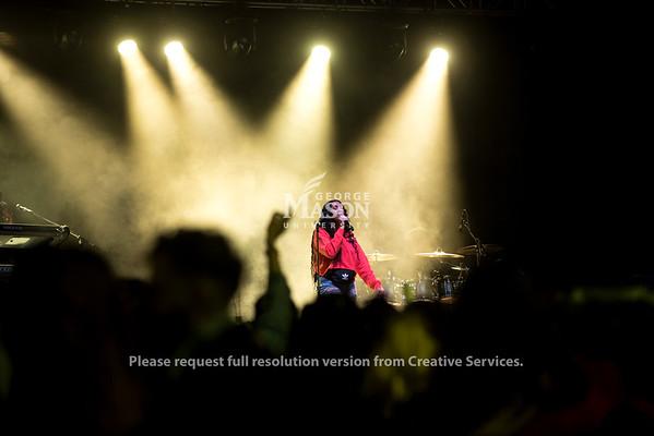 Queen Naija performs at Mason Day 2019. Photo by Bethany Camp/Creative Services/George Mason University.