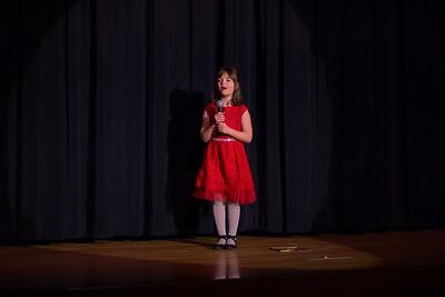 Samantha Kenny singing Annie