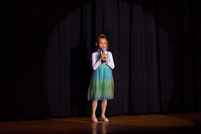 Kaya Duzynski singing