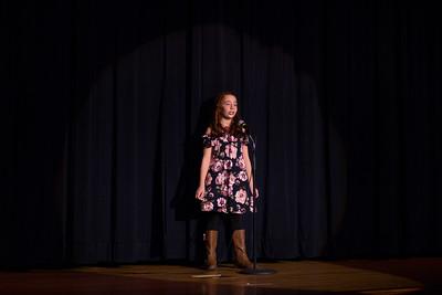 Ava Renne singing