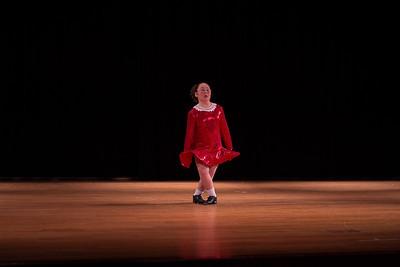 Anna Hayashi preforming an Irish step dance