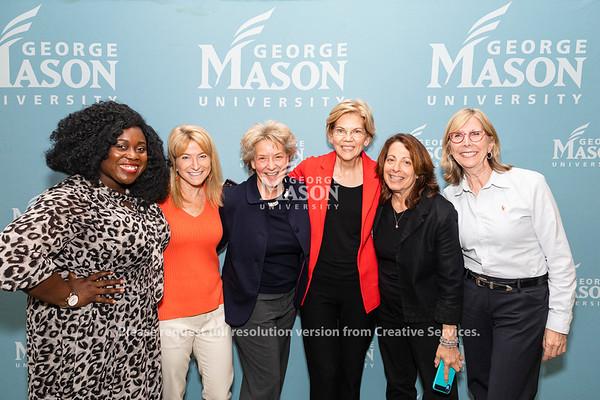 Presidential candidate Sen. Elizabeth Warren, D-Mass., speaks at George Mason on Thursday, May 16, 2019. Photo by Lathan Goumas/Strategic Communications
