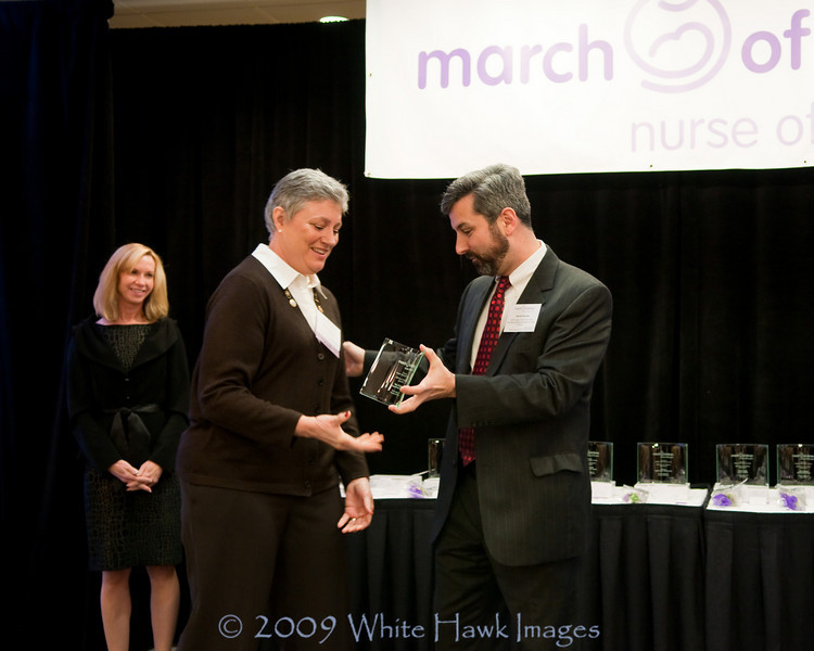 2009 March of Dimes  Nurse of the Year Awards, at Bellevue Hilton