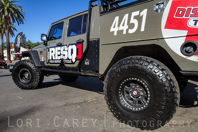 Nitto Trail Grapplers on Discount Tire's RESQ1 Jeep Wrangler JK conversion http://www.dtcresq1.com/ Offroad Expo, Pomona, California 06 October 2013
