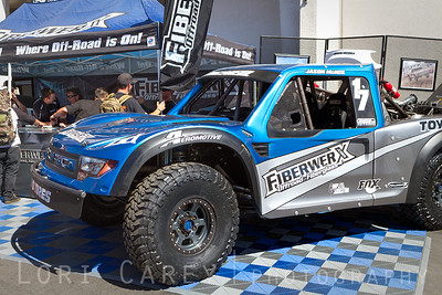 Fiberworx owner Jason McNeil's desert racing truck Offroad Expo Pomona, CA 05-06 October 2013