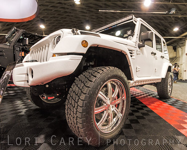 Nitto Terra Grapplers on a Kevlar coated Jeep Wrangler from Starwood Motors Offroad Expo, Pomona, California 06 October 2013