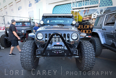 Jeep Wrangler JK at Rebel Offroad booth Lucas Oil Offroad Expo Pomona, CA 05-06 October 2013