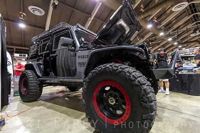 Nitto Mud Grapplers on VIAIR's TRV (Trail Recovery Vehicle) built by Rebel Offroad Offroad Expo, Pomona, California 03 October 2013