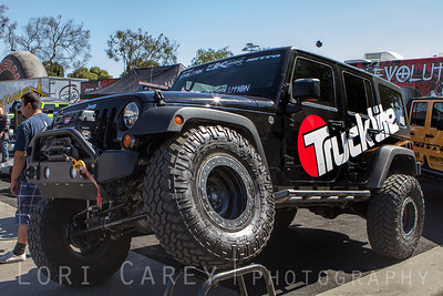 Nitto Trail Grapplers on Truck-Lite Company's Jeep Wrangler JK built by Offroad Evolution Offroad Expo, Pomona, California 05 October 2013