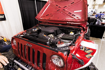 LS Engine Swap Jeep Speed Shop on a Jeep Wrangler JK Lucas Oil Offroad Expo Pomona, CA 05-06 October 2013