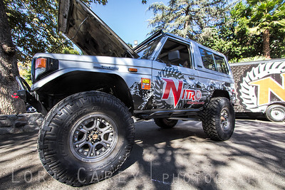 Nitto Trail Grapplers on Nitro Gear's Toyota Land Cruiser Offroad Expo, Pomona, California 06 October 213