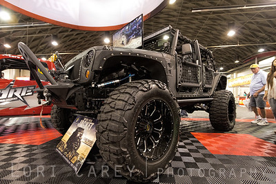 """Full Metal Jacket"" kevlar coated Jeep Wrangler JK by Starwood Motors Lucas Oil Offroad Expo Pomona, California 05-06 October 2013"