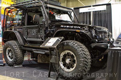 Nitto Trail Grapplers, Anzo USA's Jeep Wrangler JK 2DR Offroad Expo, Pomona, California 05 October 2013