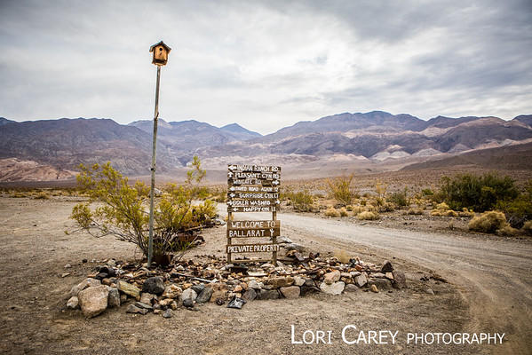 Ballarat ghost town, Panamint Valley, California