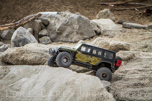 New RC obstacle course at the 2016 Tierra del Sol Desert Safari