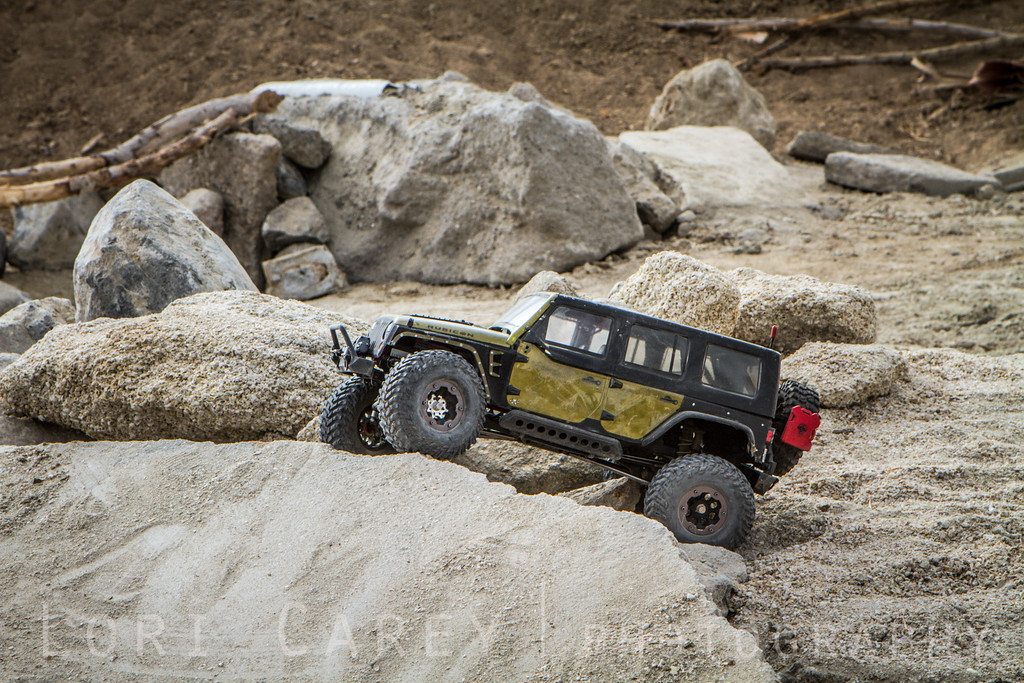New RC obstacle course at the 2016 Tierra del Sol Desert Safari