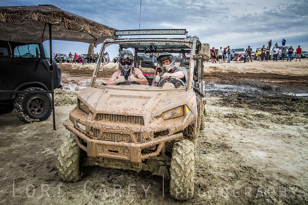 People had a great time with the new mud pit at the 2016 Tierra del Sol Desert Safari