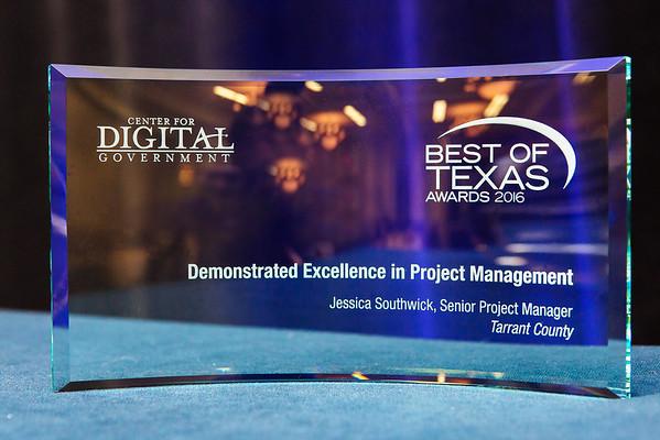 2016 Texas DGS Best of Texas Awards