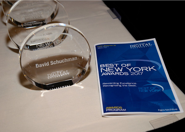 2017 New York DGS Best of NY Awards