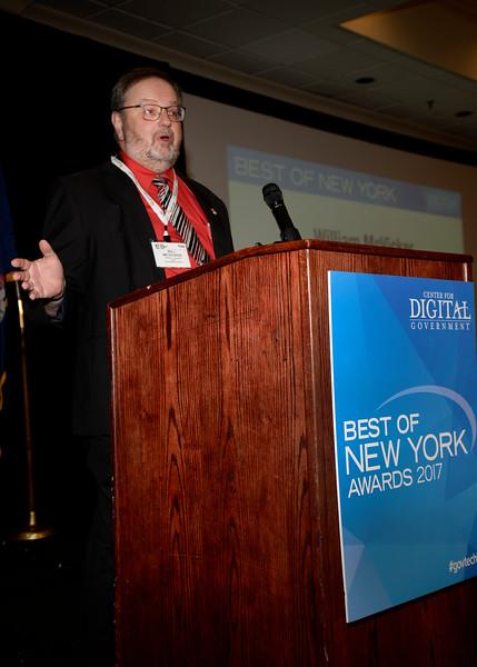 Center for Digital Government  Best of New York 2017 Awards