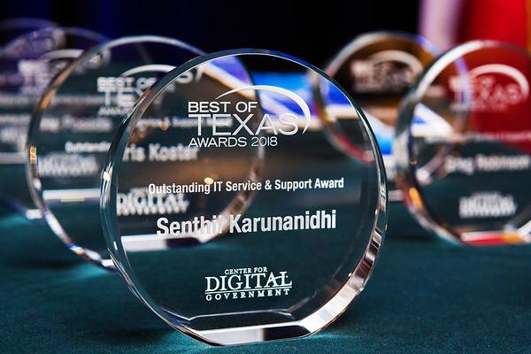 2018 Texas DGS Best of Texas Awards