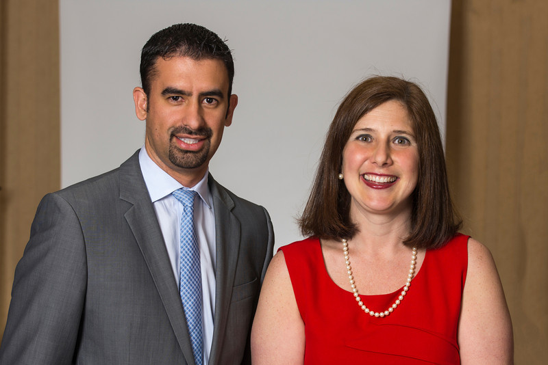 Leonardo Pareja and Associate Dean Lisa Gring-Pemble