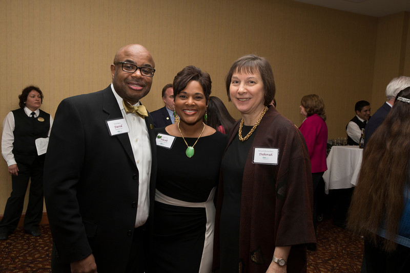 Mason faculty, staff and students attend the Celebration of Distinction at the Mason Inn. Photo by Craig Bisacre/Creative Services/George Mason University