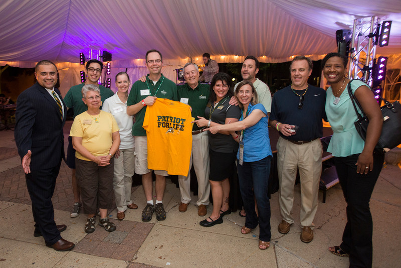 Alumni Weekend Green and Gold Bash