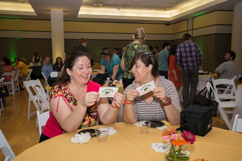 Alumni Weekend Beer and Honey Tasting