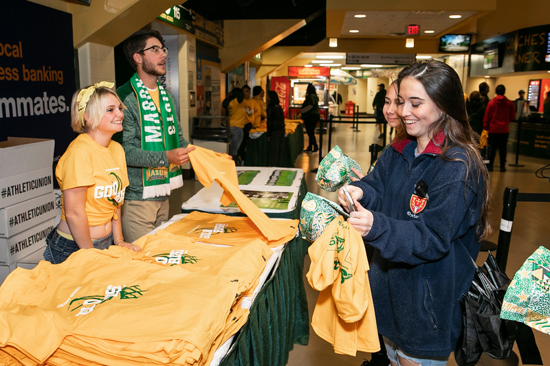 Gold Rush 2018.  Photo by:  Ron Aira/Creative Services/George Mason University