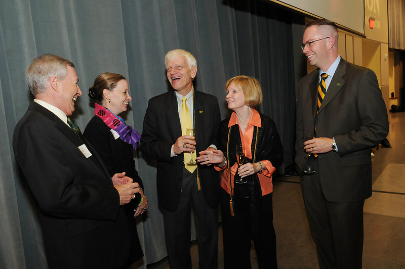 Alumni Weekend 2011 - Dessert Social with Champagne Toast to Dr. and Mrs. Merten