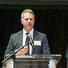 Daniel Houser, Director/Professor/Chair, Economics, Interdisciplinary Center for Economic Science, at the James M. Buchanan and Vernon L. Smith Dedication at George Mason University Arlington Campus.  Photo by:  Ron Aira/Creative Services/George Mason University